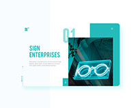 Sign Enterprises | WEB UI