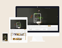 Landis Hotel & Resort Website Key Pages Layout Design