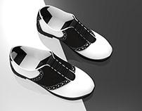 Saddle Oxford Shoes