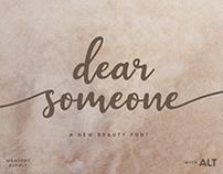 Dear Someone Script