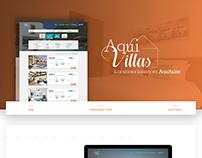 WEB DESIGN - Aqui Villas