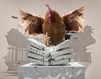 Natnudo Chicken Print Ads October 2017