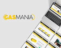 GASMANIA | Website (Prototype)
