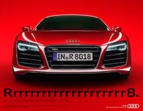 AUDI R8 - Full CGI campaign