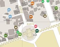 Jeon-Ju Castle Cultural Map
