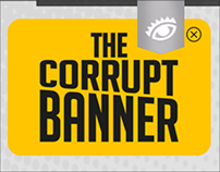 The corrupt banner