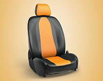 Covers for car seats / CGI Render