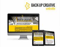 BackUp Creative Website