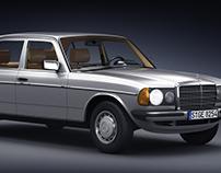 Mercedes-Benz W123 230E | Full CGI
