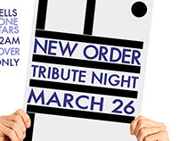 New Order Tribute Poster