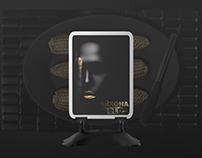 """Концепт рекламной кампании для ресторана """"Чайхона GOLD"""""""