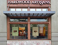 Hardwood Artisans Advertising and Signage