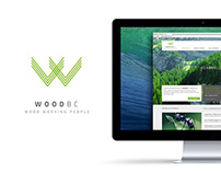 WOOD BC – LOGO & WEBSITE
