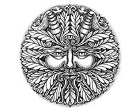 Motifs tatouage - L'homme vert