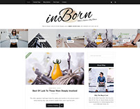 inBorn Clean WordPress Blog Theme - WordPress Template