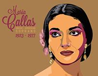 Maria Callas | Portrait poster