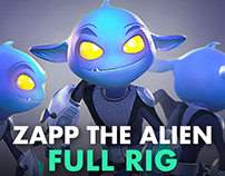 Zapp - The Small Alien