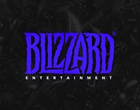"redesign the ""Blizzard"" logo (concept)"