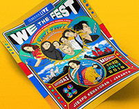 We The Fest 2018 Poster Competition