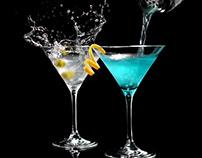 cinemagraphs for Blue Angel vodka