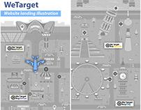 WeTarget Landing Illustration