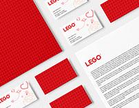 LEGO Redesign || Web & Branding Concept