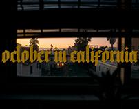 1 October in Los Angeles