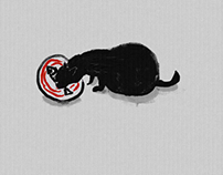 Gummy paint cats 01