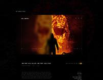 Halloween (franchise) Movie Website Design