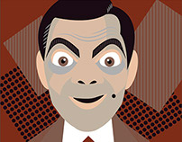 Mr. Bean Illustration
