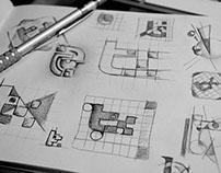 Bocetos y procesos creativos