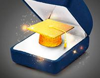 Felicitaciones PROMO Colegio KCP, Joyería Moderna