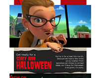 Halloween with Netflix | Influencer Marketing