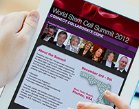 World Stem Cell Summit Tablet Information App