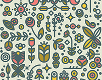 36dot Flower Garden Pattern
