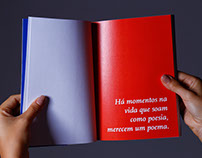 Livro de poesia Folhas Soltas