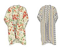 Preliminary Fashion CAD Sketches