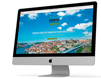PORTO WATER INNOVATION WEEK - Web Design