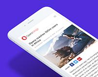 Opera Blogs — Redesign