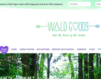 Wildgoods Website Design