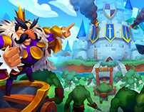 Dungeon Brawlers _ Rocket Jump