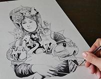 """Illustration """"Place aux Artistes 2018"""""""