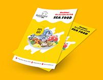 Sea Food Sales Flyer