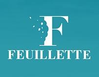Feuillette Bakery app concept