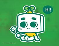中華豆腐公仔- Tofu Mascot