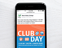 Club Day Social Media