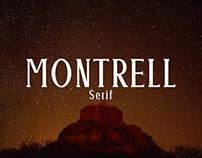 Montrell - Free Serif Font
