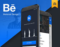 Behance Material Design