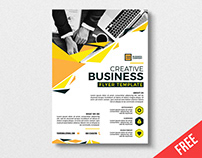 FREE Ai FLYER TEMPLATE
