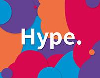 Hype. / Brand identity